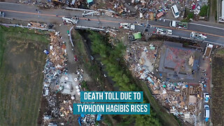 Death toll due to Typhoon Hagibis rises