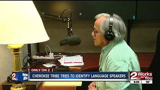 Preserving the Cherokee language