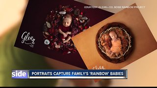'Rainbow babies' portraits: hope for families, awareness for hospitals