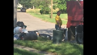 Garbage cleaned up in Lorain Community after News 5 confronted the property manager - Video