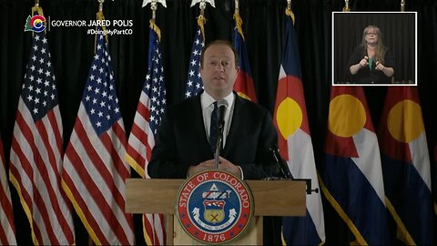 Gov. Jared Polis announces interactive map for community testing sites