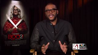 "Tyler Perry talks ""A Madea Halloween"" - Video"