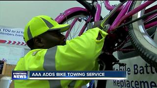AAA adds bike towing service - Video