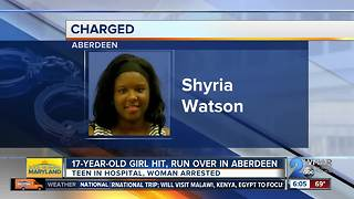 Teen intentionally run over during fight with other woman