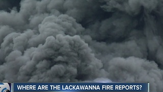 Where are the Lackawanna fire inspection reports? - Video