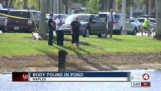 Dive team pulls body from pond near Naples Airport - Video