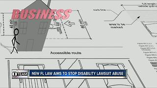 Florida lawmakers pass law aimed at crippling ADA lawsuit abuse - Video