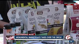 Monumental Marketplace takes over the circle - Video