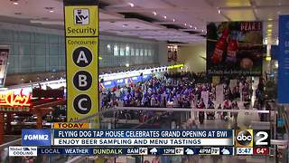 Flying Dog Tap House opens at BWI - Video