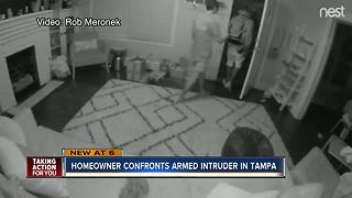 Armed intruder breaks into home with 1-year-old child inside