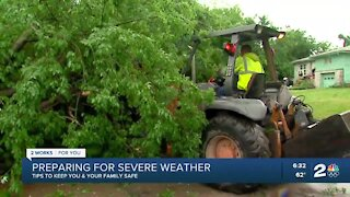 Tips on staying safe during severe weather