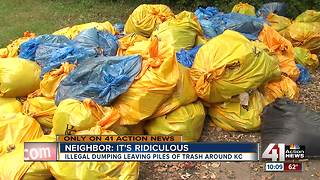 Taking a closer look at illegal dumping in KC - Video
