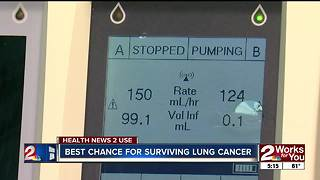 Health News 2 Use: Best chance for surviving lung cancer - Video