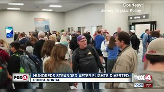Allegiant travelers stranded at Punta Gorda Airport