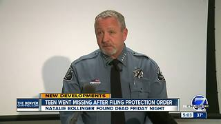 Adams Co. sheriff says he doesn't believe threat to public exists after Natalie Bollinger's death - Video