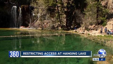 Hanging Lake will become a lot less crowded under nearly-finalized management plan