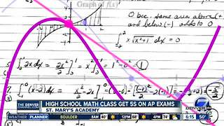 Englewood school holds onto AP calculus title with 3rd straight year of perfect scores - Video