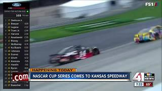 Kansas Speedway set for racing