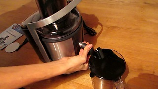 Ambiano Juicer unboxing, review