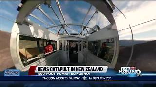 The Nevis Catapult is New Zealand's human slingshot thrill ride - Video