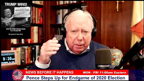 Dr. Corsi NEWS 12-30-20: Pence Steps Up for Endgame of 2020 Election