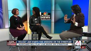 Holiday jam starts this weekend on the KC streetcar - Video