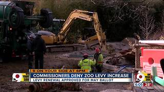 Commissioners deny zoo levy increase - Video