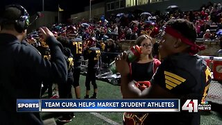 Team Cura helps market local high school athletes