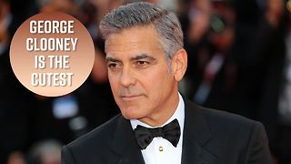 George Clooney talks quitting acting, babies and Trump - Video