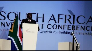 SOUTH AFRICA - Johannesburg - South Africa Investment Conference - (Video) (uUH)