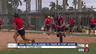 Team USA training in Fort Myers - Video