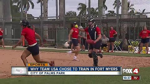 Team USA training in Fort Myers