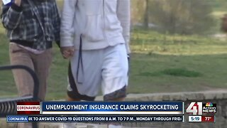 Unemployment Insurance Claims Skyrocketing