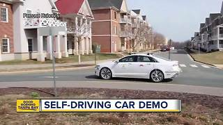 Self-driving car demo coming to Tampa - Video