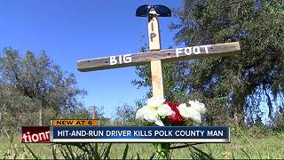 Hit-and-run driver kills Polk Co. man - Video