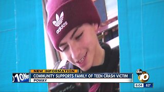 Community helping family of teen killed in Mission Valley crash