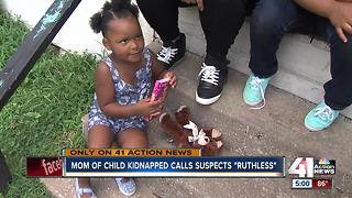 Mom of three-year-old girl taken in stolen car speaks out - Video