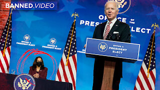 Watch Biden Refer To Kamala Harris As President Elect Yet Again!
