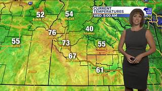 Dog days of summer continue, as above-average temps are on tap all week - Video