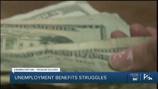 Unemployment benefits struggles