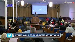 Protest of Stand Your Ground shooting - Video