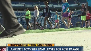 Marching Pride of Lawrence Township will perform in the Rose Parade - Video