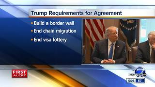 Colorado senators hopeful for immigration deal after meeting with Trump - Video