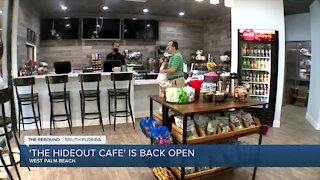 West Palm Beach restaurant reopens year after pandemic began