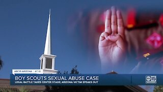 Arizona victim of alleged sex abuse by Boy Scout leader speaks out about the trauma