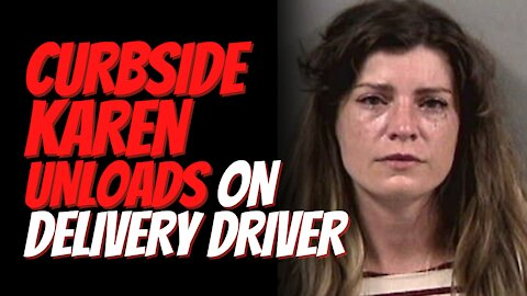 Curbside Karen In Trouble For Confronting Amazon Delivery Driver, Calling Him 'The N-word' In Rant!
