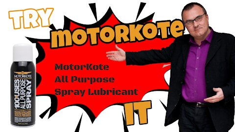 Motorkote MK-30301-6 All Purpose Lubricant Spray, Friction Fighter