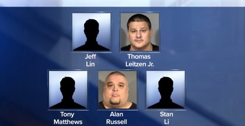 5 indicted in Las Vegas prostitution operation