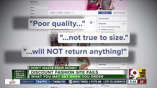 Discount fashion sites: Here's what you may get - Video