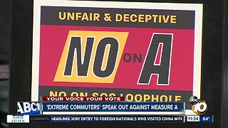 Measure A opponents hold rally, speak out against proposal